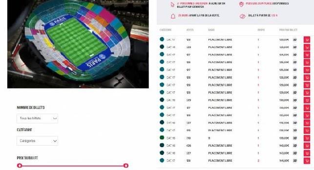TicketOne, Bardelli: Biglietti esauriti con il PSG in meno di due ore! C'è stato un disservizio per la troppa affluenza
