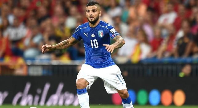 SSC Napoli: Insigne di scena in Italia-Portogallo, in campo anche Mario Rui