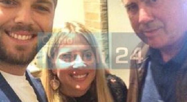 Serata di relax per Ancelotti e famiglia, pizza da Concettina nel cuore della Sanità [FOTO]