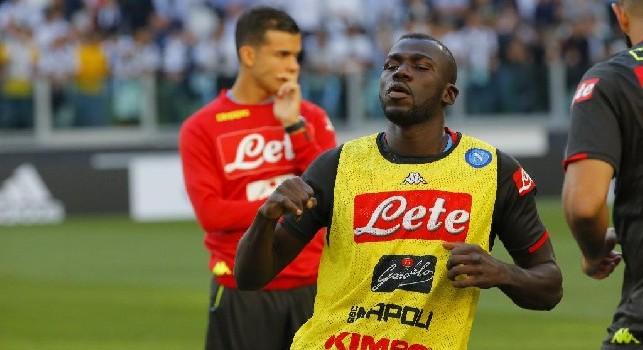 Niente di preoccupante per Koulibaly, a Udine potrebbe riposare solo per la diffida