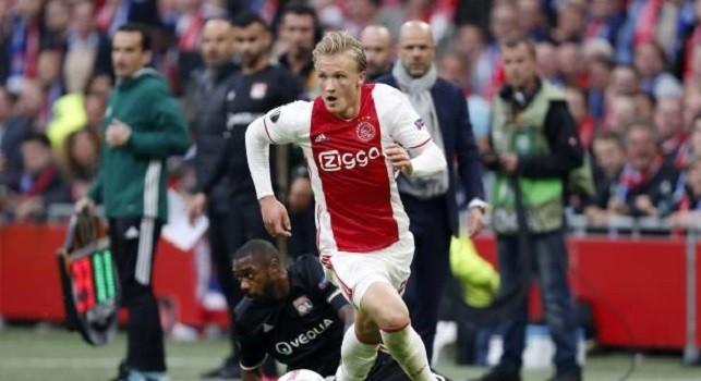 Dolberg, l'entourage: E' fuori portata per il Napoli, l'Ajax chiede più di 30 mln