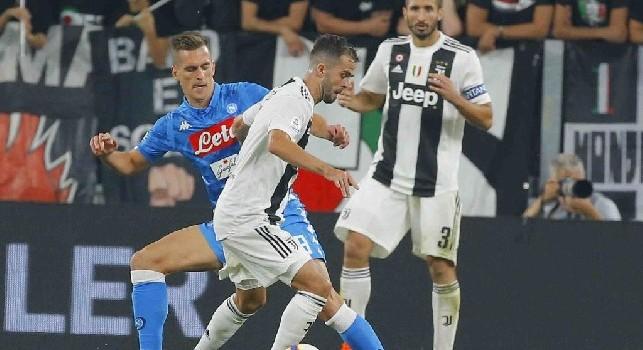 Juve, Pjanic: Scudetto? Abbiamo un bel vantaggio, ma ci sarà da lottare fino all'ultimo con il Napoli. Il triplete è un obiettivo