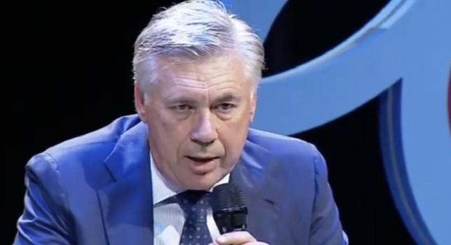 Ancelotti: Quello che faccio mi piace, finirò prima che lo stress arrivi a mille! A Napoli tutto è paradiso