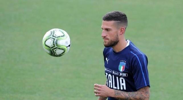 Italia, Biraghi lascia il ritiro per infortunio al ginocchio: la prima diagnosi
