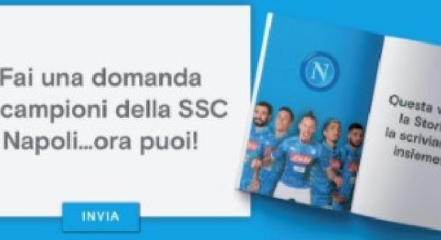 La SSC Napoli lancia la Social Biography: gli azzurri sono il primo club al mondo per questa curiosa iniziativa