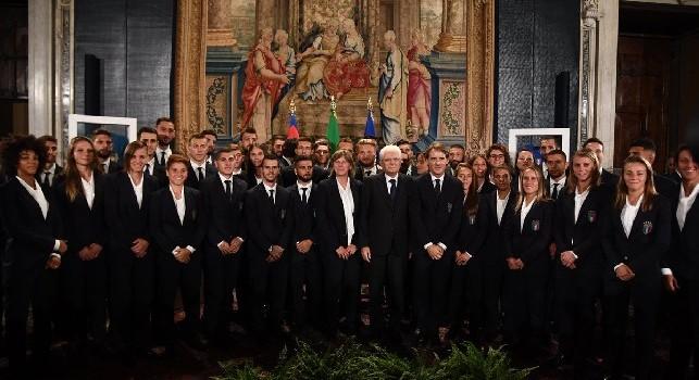 Insigne e la Nazionale italiana al Quirinale: Mattarella celebra i 120 anni della Federcalcio [FOTO]