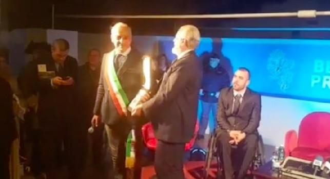 Solopaca, il sindaco: Giornata storica per la nostra città. A De Laurentiis il club, ma anche una targa. Ho scoperto che...
