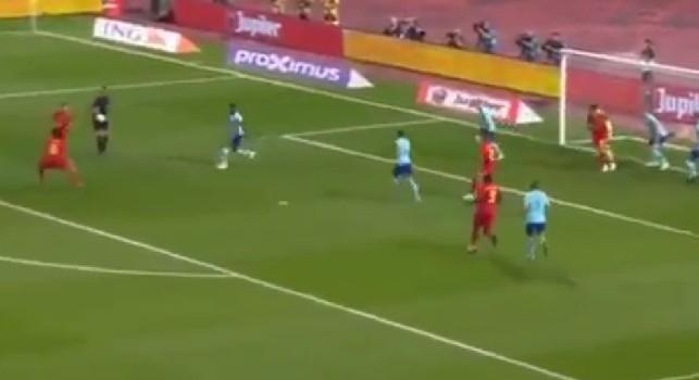 Belgio-Olanda 1-0, gol spettacolare di Mertens: l'azzurro calcia al volo e la mette all'incrocio [VIDEO]