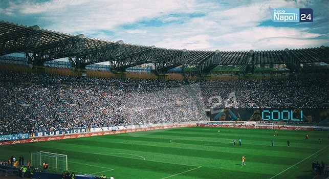 Stadio San Paolo, prototipo ad anello unico (CalcioNapoli24)