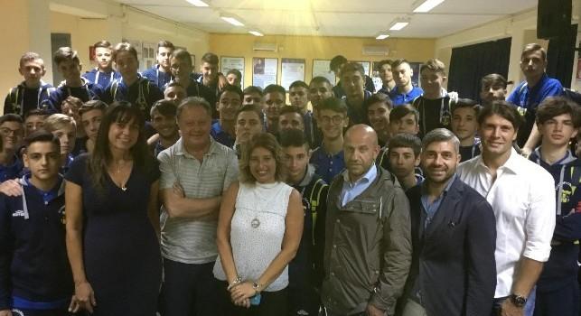Real Casarea, il dottore De Nicola visita le classi College: le sue dichiarazioni
