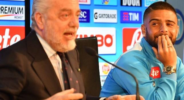 De Laurentiis su Insigne: Deve riposare, sarà lui il primo a soffrire perchè non giocherà ad Udine [VIDEO CN24]