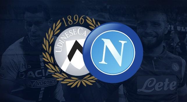 L'Udinese comunica: All'ingresso sarà controllata la residenza, trasferta consentita ai napoletani nel settore ospiti