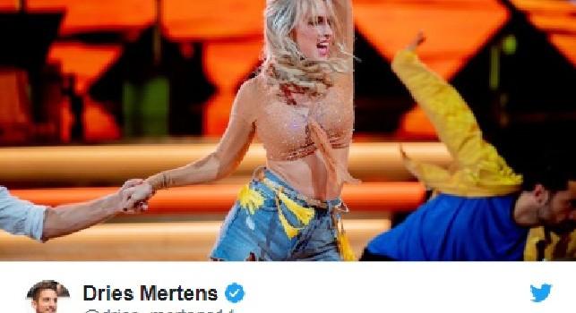 Mertens, la moglie partecipa a Ballando con le Stelle: Guardate come sa ballare la mia stella! [FOTO]