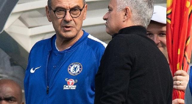 Chelsea-United, arriva la pace. Sarri: Colpa nostra, ho preso provvedimenti. Mourinho: Scuse accettate