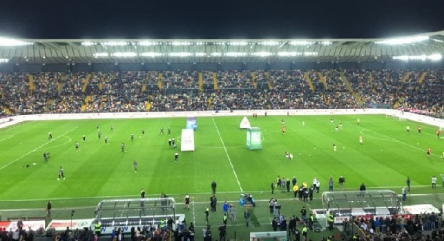 Da Udine protestano: Cori da censura ieri sera, ne ha fatto scalpore uno intonato dai tifosi del Napoli!