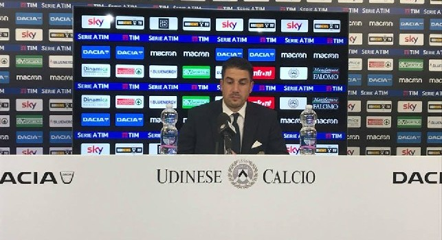 Udinese, Velazquez: Primo goal del Napoli assurdo. Tre grandi chance nella ripresa, potevamo pareggiare. Differenza con la Juve? Con loro impossibile vincere