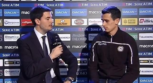 Udinese, Lasagna: Sfida difficile con il Napoli, siamo fiduciosi