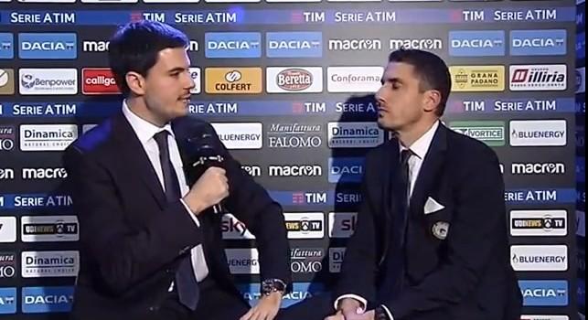 Velazquez a UdineseTV: Con la Juve impossibile fare gol, ma contro il Napoli potevamo almeno pareggiare: sciupate tante occasioni [VIDEO]