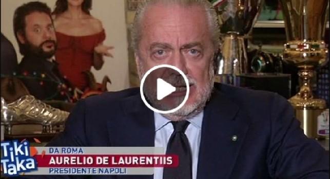 Aurelio De Laurentiis a Tiki Taka