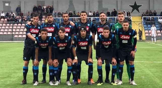 Coppa Italia Primavera, Cosenza-Napoli 3-1 (30'pt Santangelo, 8'st Gaeta, 15'st Sueva, 45'st Belcastro): azzurri eliminati, il Cosenza passa il turno