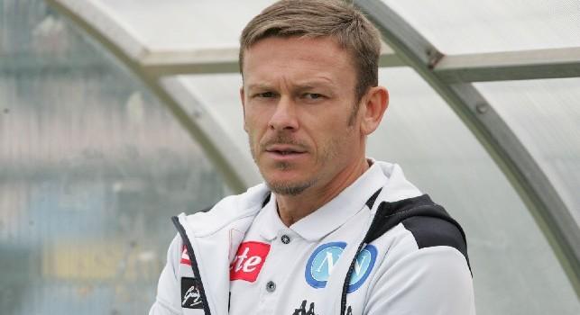 Roberto Baronio, allenatore della Primavera del Napoli