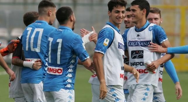 Primavera, Napoli al secondo posto: scavalcata la Juventus, pari punti con Roma e Torino