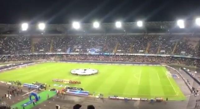 L'urlo 'The Champions' del San Paolo spopola su Instagram, Griezmann e Balotelli innamorati [FOTO]