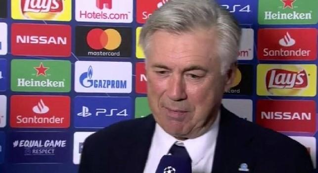 Ancelotti sul Liverpool: Non ci difenderemo, non siamo capaci!, poi scherza su Salah: Tripletta? Speriamo li abbia fatti tutti oggi [VIDEO]