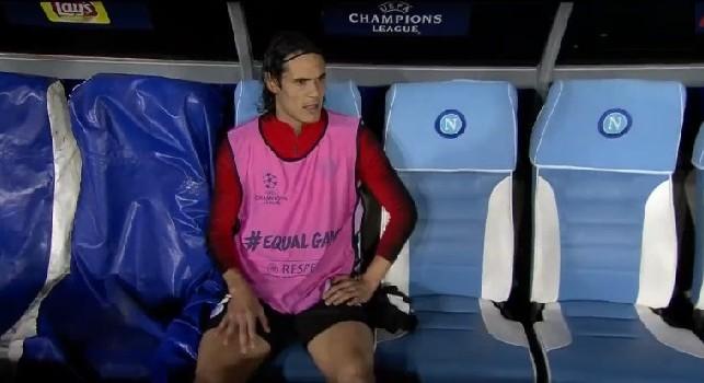 Standing ovation del San Paolo per Cavani: calciatori del PSG stupiti, Mbappè ha preso in giro il Matador