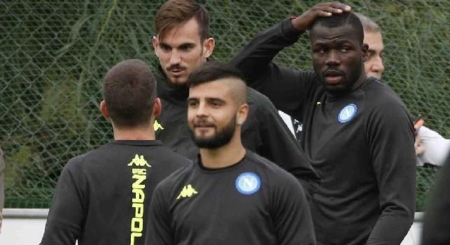 Genoa-Napoli, i convocati di Ancelotti: assenti Meret e Younes, recupera Mertens. Out Verdi, torna Luperto