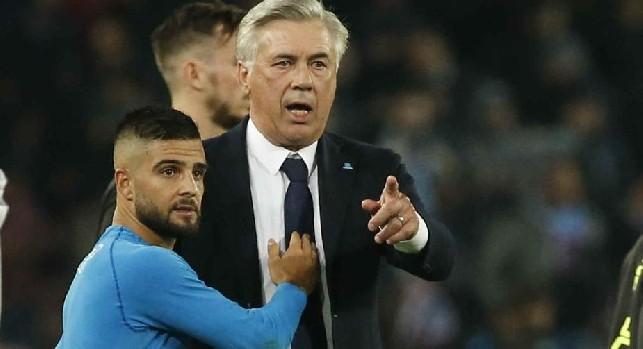 TS - Probabile rimpianto Ancelotti per lo sceicco del PSG! Mertens recupera, ma va verso la panchina