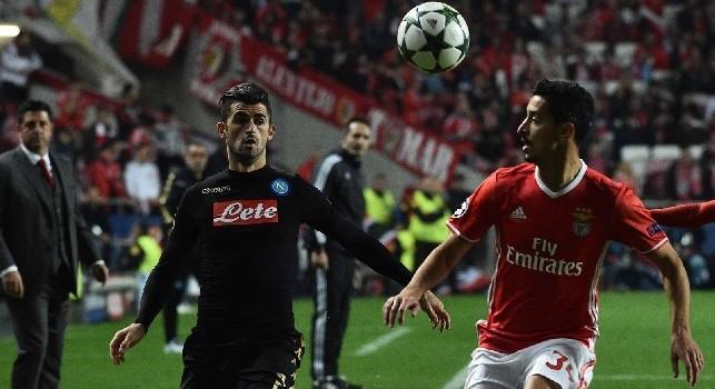 Radio Crc - Napoli su Almeida del Benfica: interesse per il terzino, può giocare su entrambe le fasce