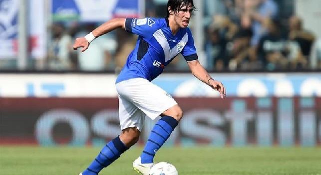 Calciomercato Juventus, su Tonali è forte il Napoli: la situazione