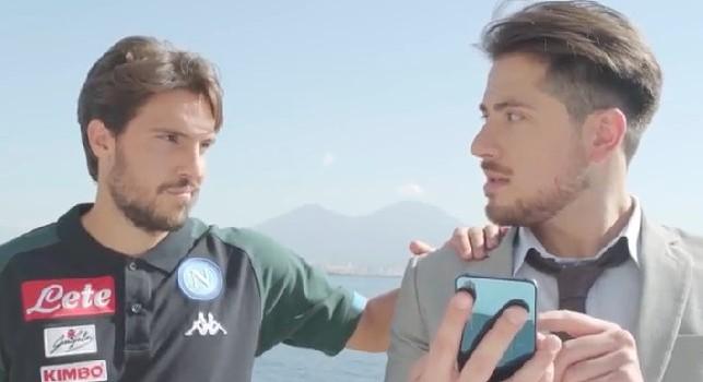 Partenrship Mytaxi-SSC Napoli, Verdi testimonial di una simpatica clip: Bastava inserire il mio nome per lo sconto... [VIDEO]