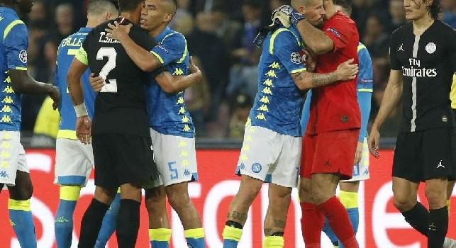 Thiago Silva, l'agente: Insieme a Koulibaly formerebbe una coppia difensiva straordinaria. Sono rimasto impressionato dal Napoli