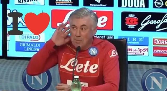 Ancelotti imita il gesto di Mourinho in conferenza: Non si può essere insultati per 90 minuti! [VIDEO]