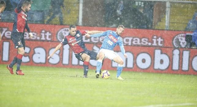 Il commento della SSC Napoli: Il popolo azzurro canta 'Singing in the rain', acquapark azzurro, Fabian come un arcobaleno