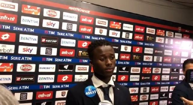 Genoa, Kouamé in mixed: Non siamo stati solo noi penalizzati, mettiamo in difficoltà tutti. Vivo per il calcio [VIDEO CN24]
