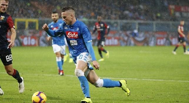Zielinski: Milik meritava quel goal a Bergamo. Non è un buon periodo, ma tornerò ai miei livelli. La Juve ha un calendario difficile, possiamo accorciare