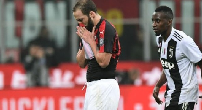 From Milan: Two weights and two goals, Higuain of Naples and Milan differ from Juventus