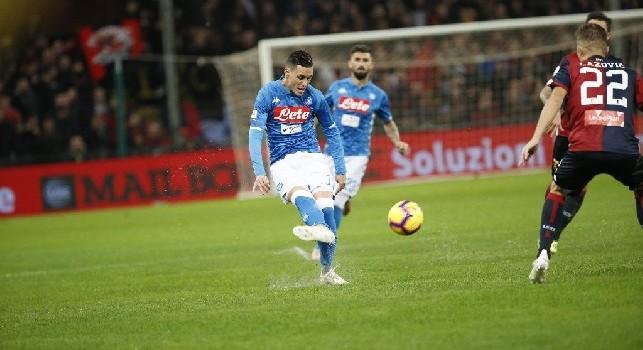 Il Roma - Callejon, il gol non è un assillo ma vuole sbloccarsi