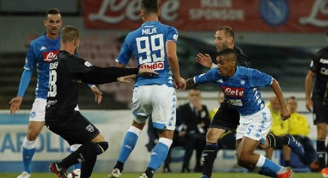 Parma, Gagliolo: Sofferto più contro il Napoli rispetto alla Juventus, azzurri difficili da affrontare