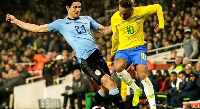 L'assist di Neymar al Napoli...