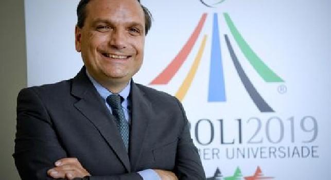 Universiadi, il commissario Basile: Universiadi seconde solo alle Olimpiadi, bisogna migliorare il San Paolo prima del 3 luglio