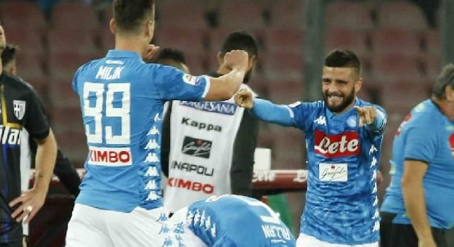 Napoli-Sassuolo, le probabili formazioni in Coppa Italia: Ancelotti super offensivo, De Zerbi con la difesa decimata