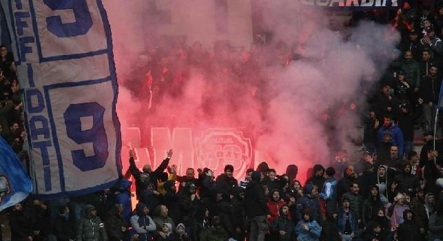Pareggio deludente contro il Chievo, ma i tifosi ringraziano comunque il Napoli [VIDEO]