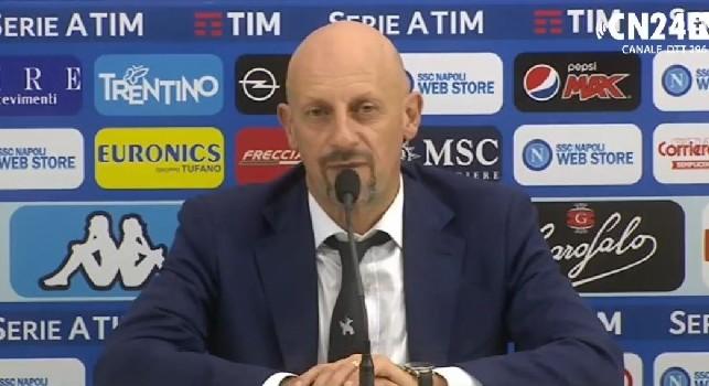 Domenico Di Carlo in conferenza stampa
