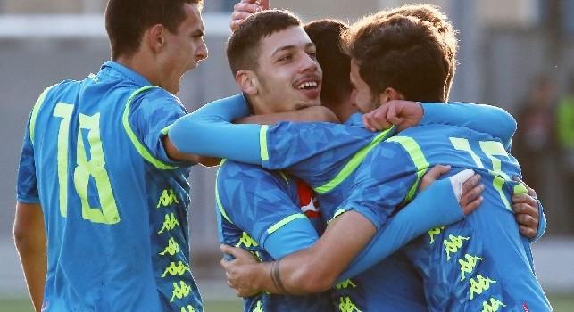 Youth League, Napoli-Stella Rossa 5-3: l'esultanza avversaria, lo show di Gaetano e l'abbraccio azzurro [FOTOGALLERY CN24]
