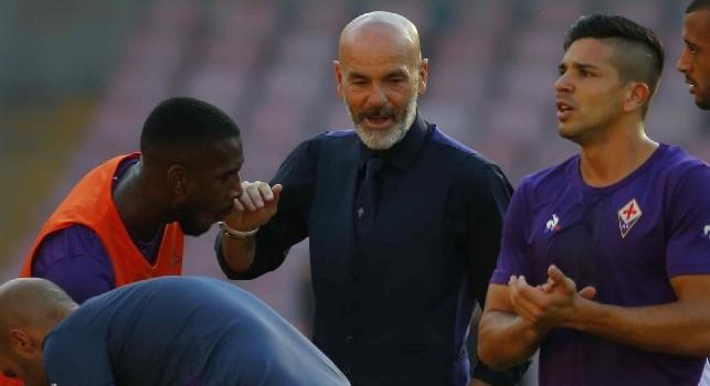 Fiorentina, rifinitura mattutina completata: presente l'intera dirigenza