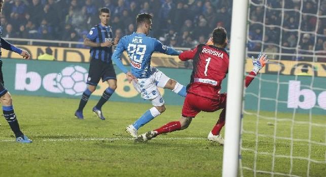 Opta - Il Napoli è la formazione che ha segnato più gol nell'ultima mezz'ora